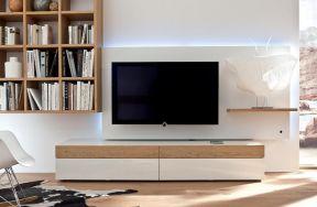 簡約電視背景 現代簡約客廳
