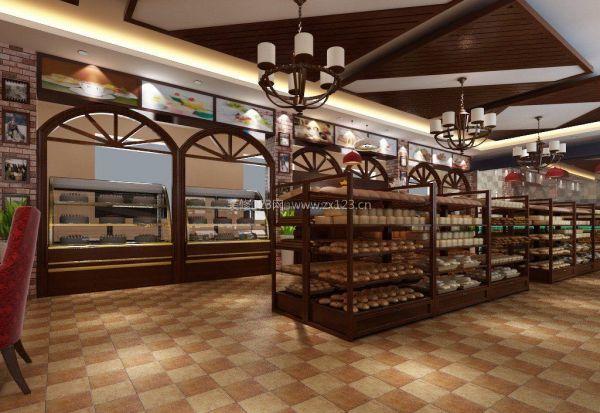 蛋糕店室内装修设计效果图