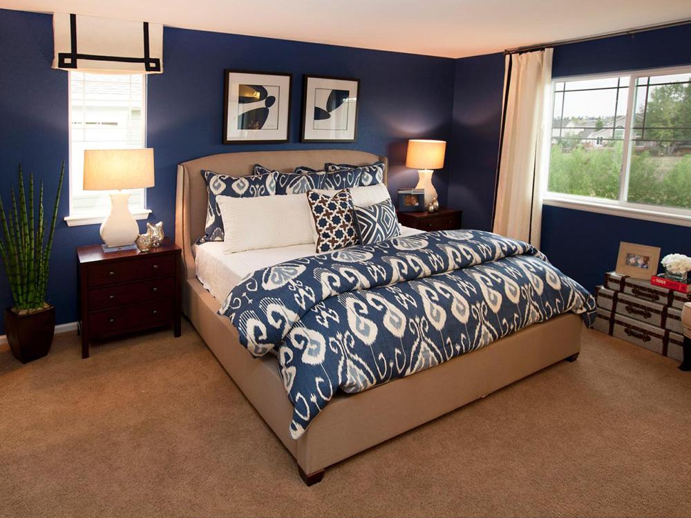 小卧室斜顶吊顶装修装饰设计实景效果图