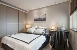 120平米三室簡約臥室裝修設計圖片