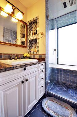 80平米新房美式衛生間裝修效果圖片