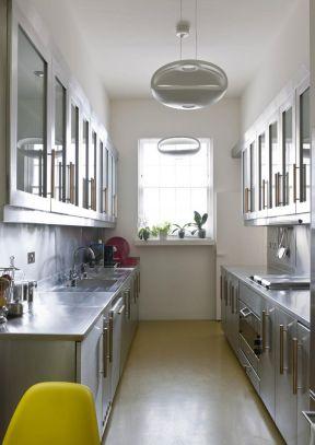 2017欧式厨房不锈钢橱柜装修-装修123网效果图大全