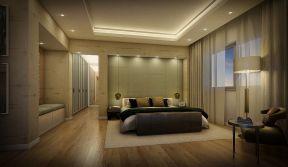 房屋臥室設計 白色踢腳線效果圖