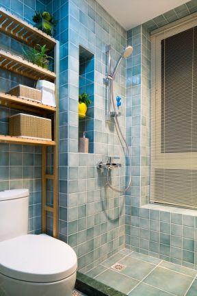 衛生間瓷磚顏色 100平米三居室裝修