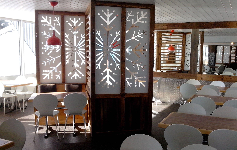 饭店室内隔断装饰装修效果图赏析