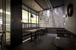 特色饭店室内墙砖墙面装修效果图片赏析图片