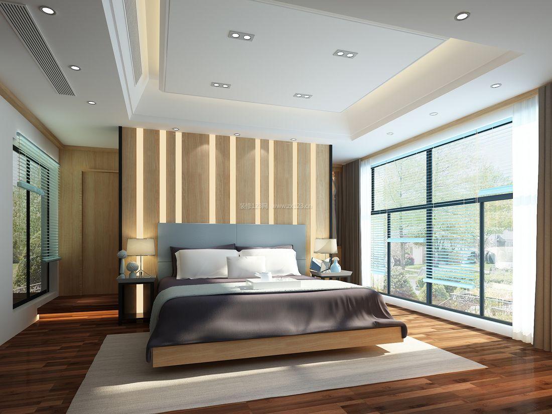 家居卧室吊顶设计装修效果图片