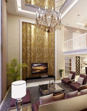 別墅客廳吊頂造型 小型別墅