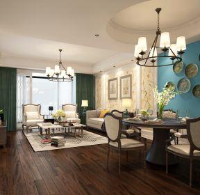 现代美式客厅图片-每日推荐