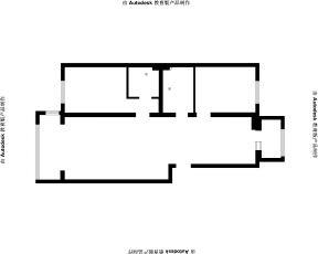 室內平面圖 現代簡單裝修