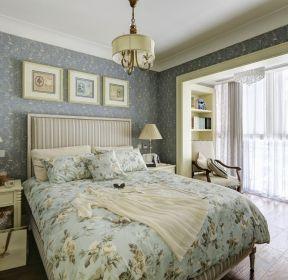 简约法式卧室装修效果图