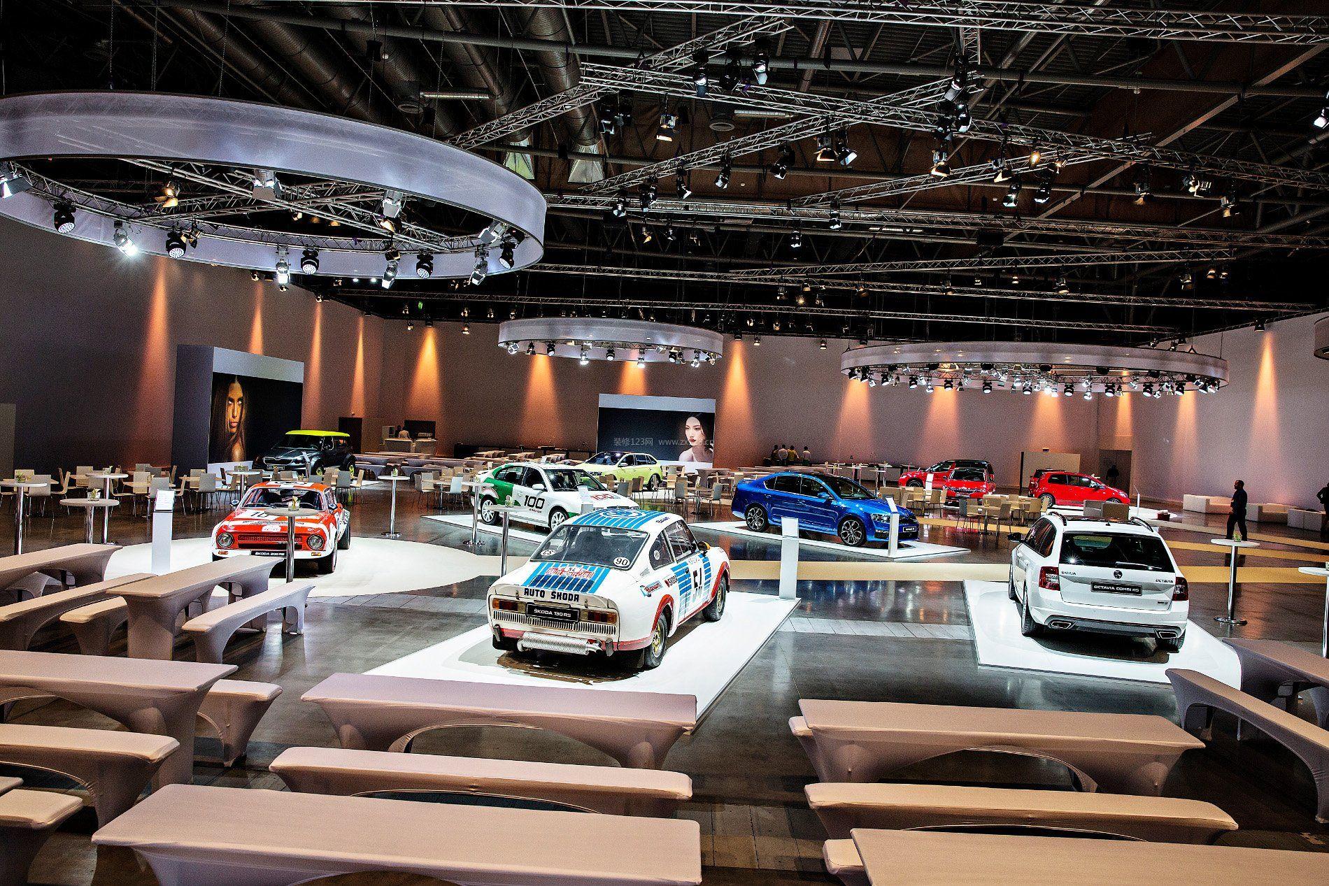汽车4s店展厅布置设计效果图欣赏