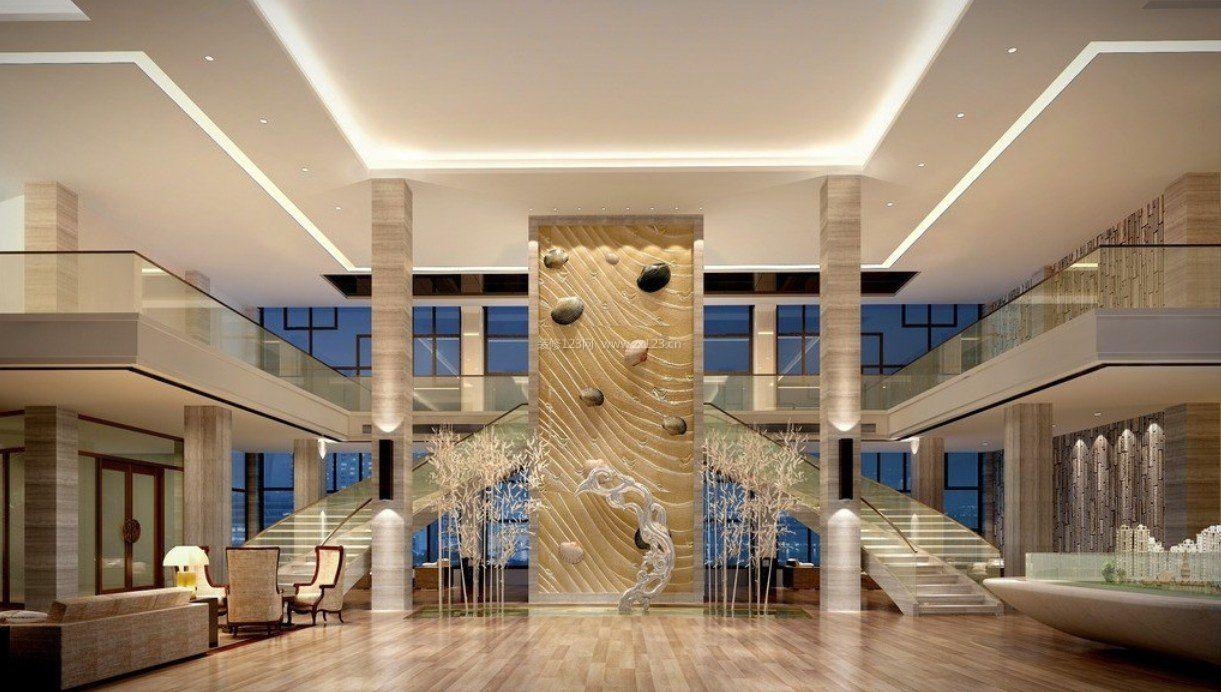 商场内部室内楼梯设计效果图图片