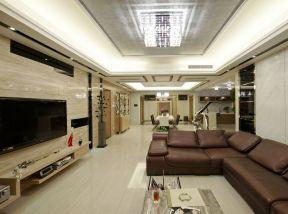 家居現代 客廳吊頂裝飾圖片