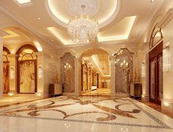 豪华欧式风格酒店大堂吊顶装修效果图片图片