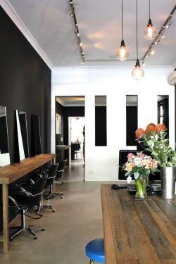 工业风格美容美发店装修图