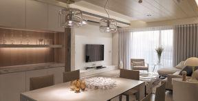 小戶型客廳現代 現代簡約電視背景墻效果圖