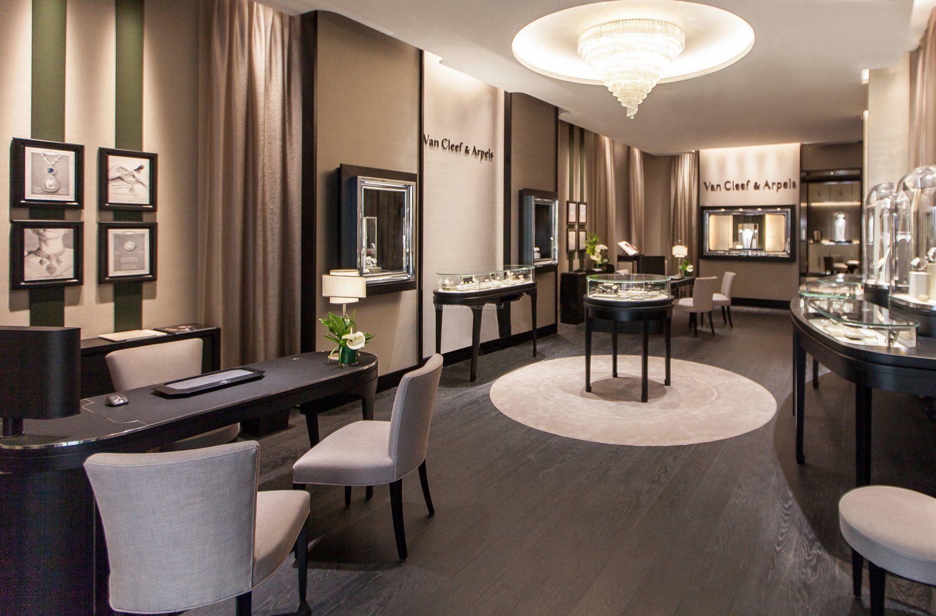 珠宝店高档室内装修设计效果图片图片