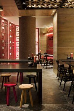 中式风格餐饮店面设计装修图图片