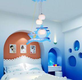 地中海风格儿童房间设计装修效果图片-每日推荐