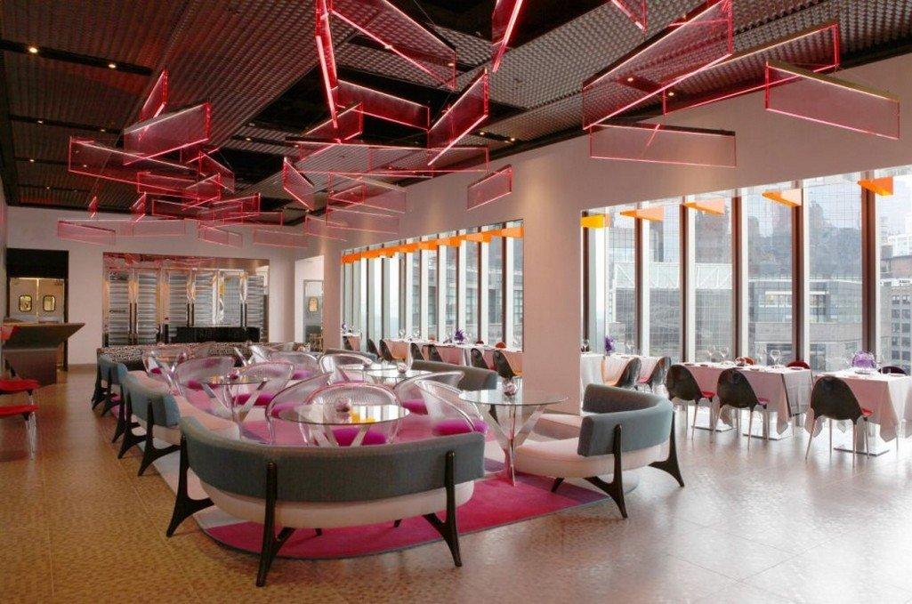餐馆天花吊顶效果图图片