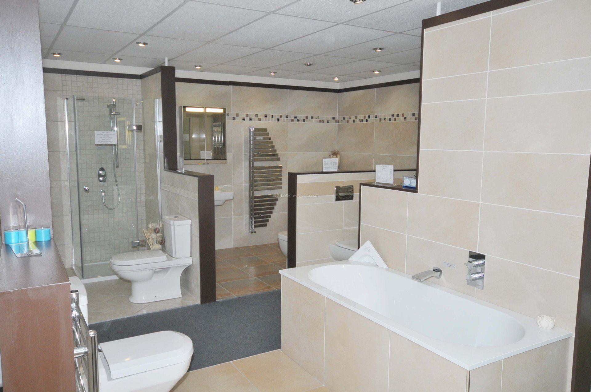 卫浴展厅隔断设计效果图
