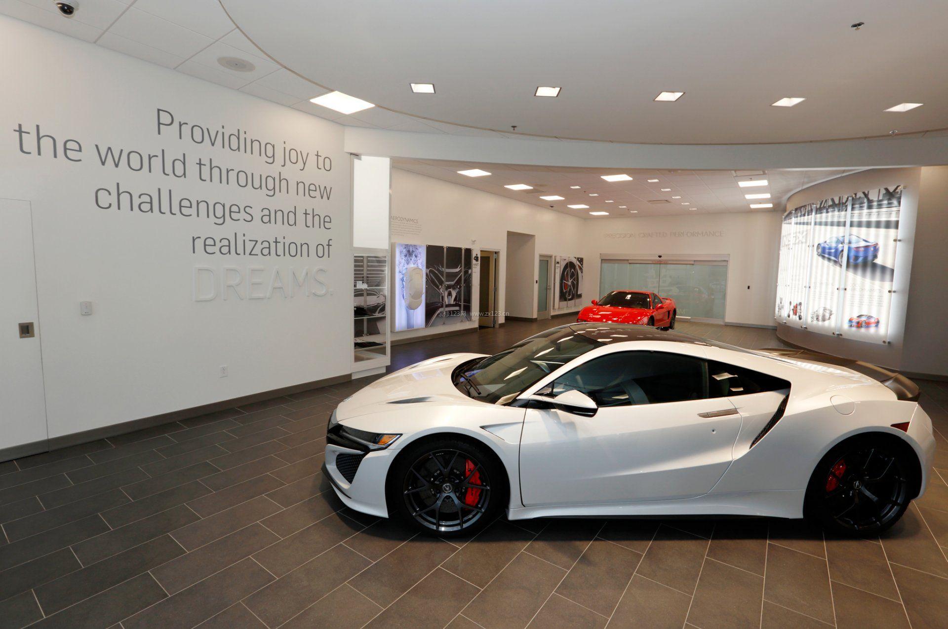 汽车4s店展厅设计装修效果图欣赏