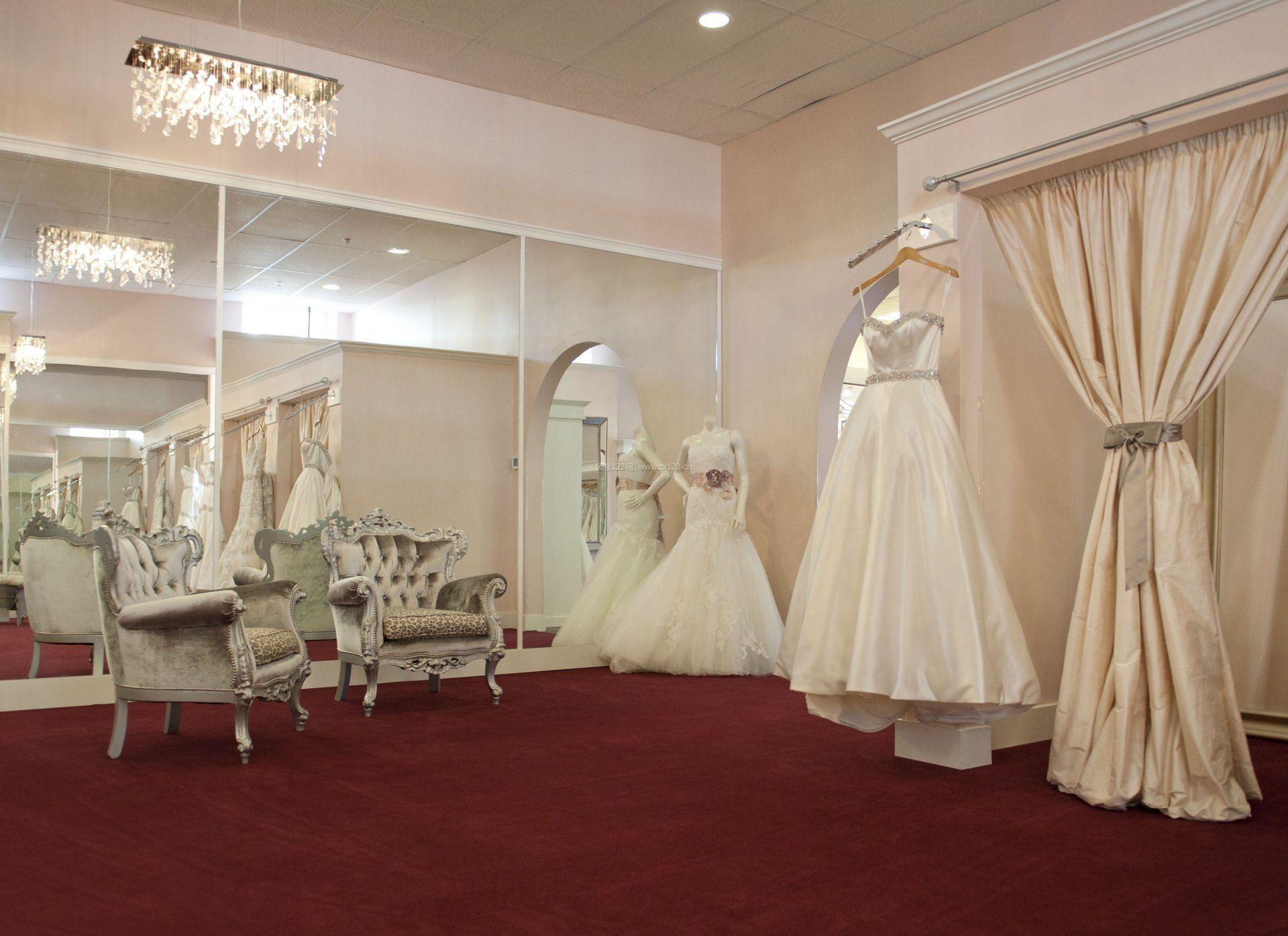 婚庆店面室内地毯装修效果图片