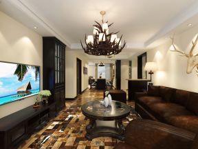 客廳電視墻裝修設計 時尚電視柜圖片