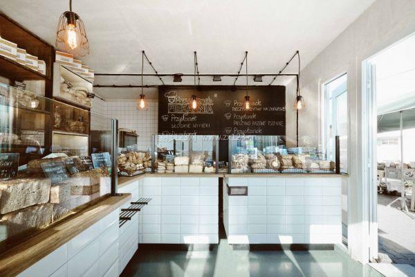 简欧蛋糕店橱窗玻璃装修设计