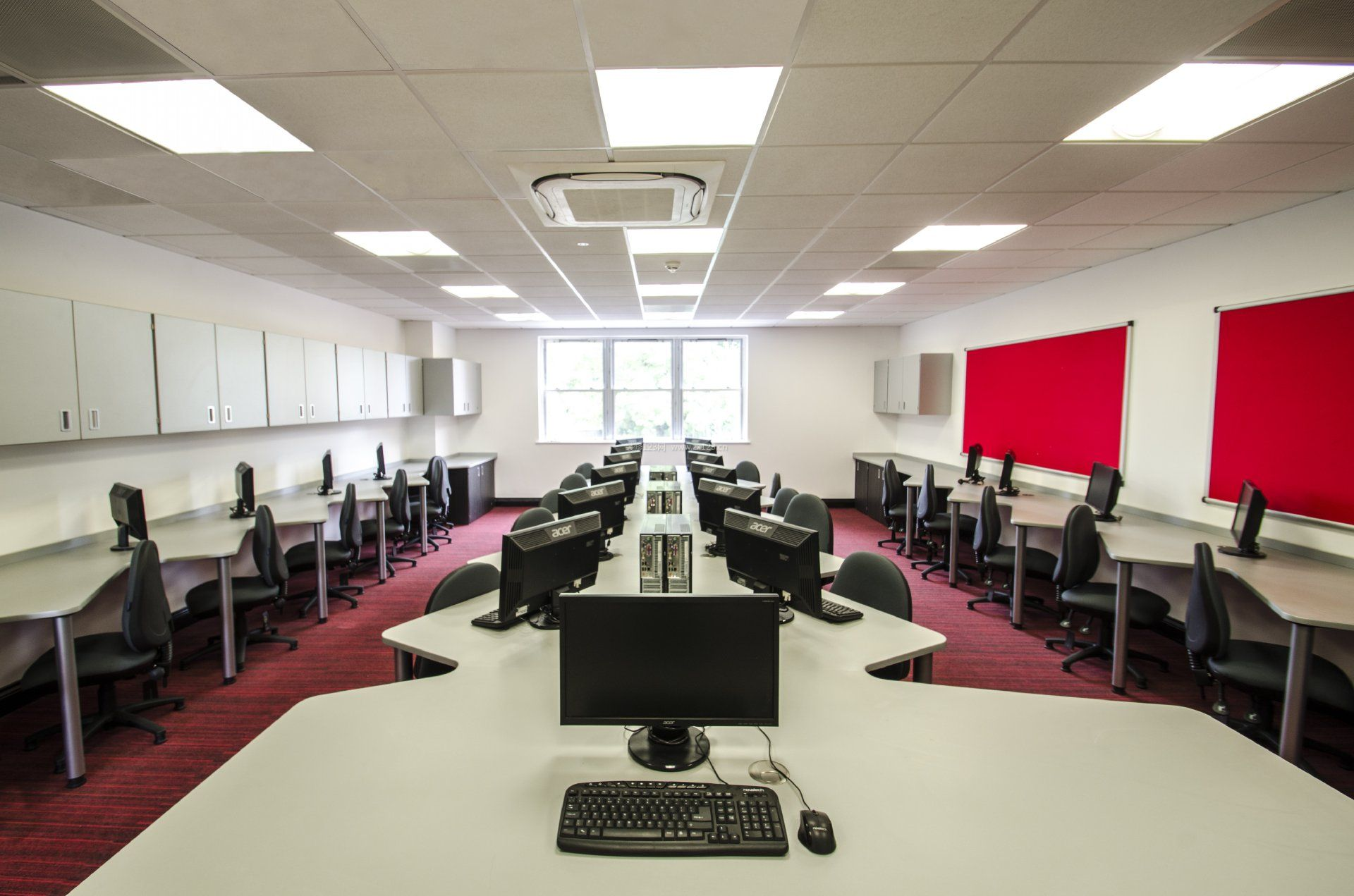 工装效果图 室内 培训学校室内集成吊顶灯装修效果图片 提供者