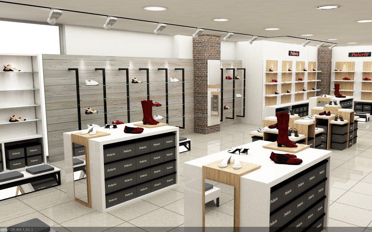 百货商场鞋店设计效果图
