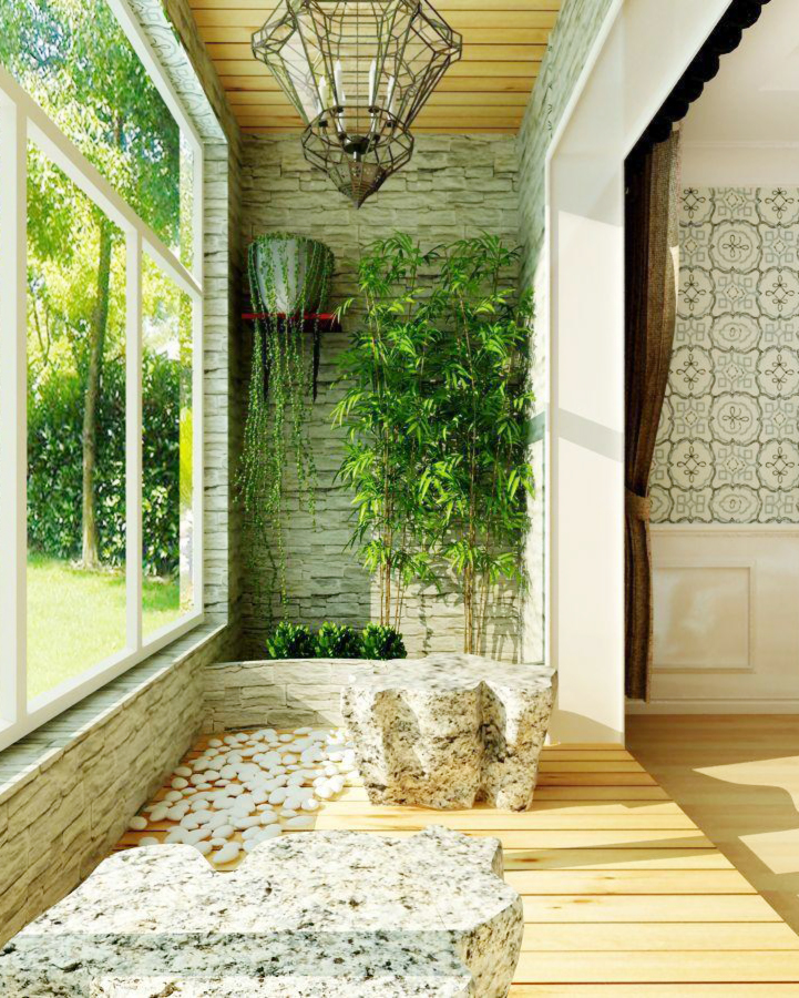 小阳台绿化装修效果图片