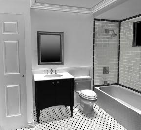 卫浴展厅效果图片 卫浴店铺装修效果图