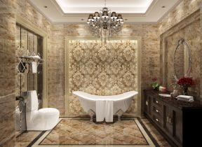 豪華復式 衛生間裝飾效果圖