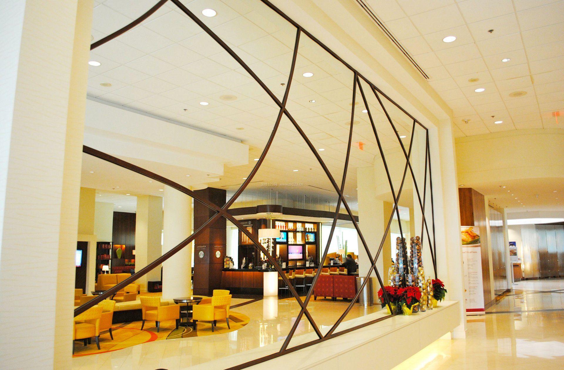 现代酒店大厅照明设计效果图片