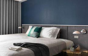 雙人床裝修效果圖片 主臥室背景墻效果圖