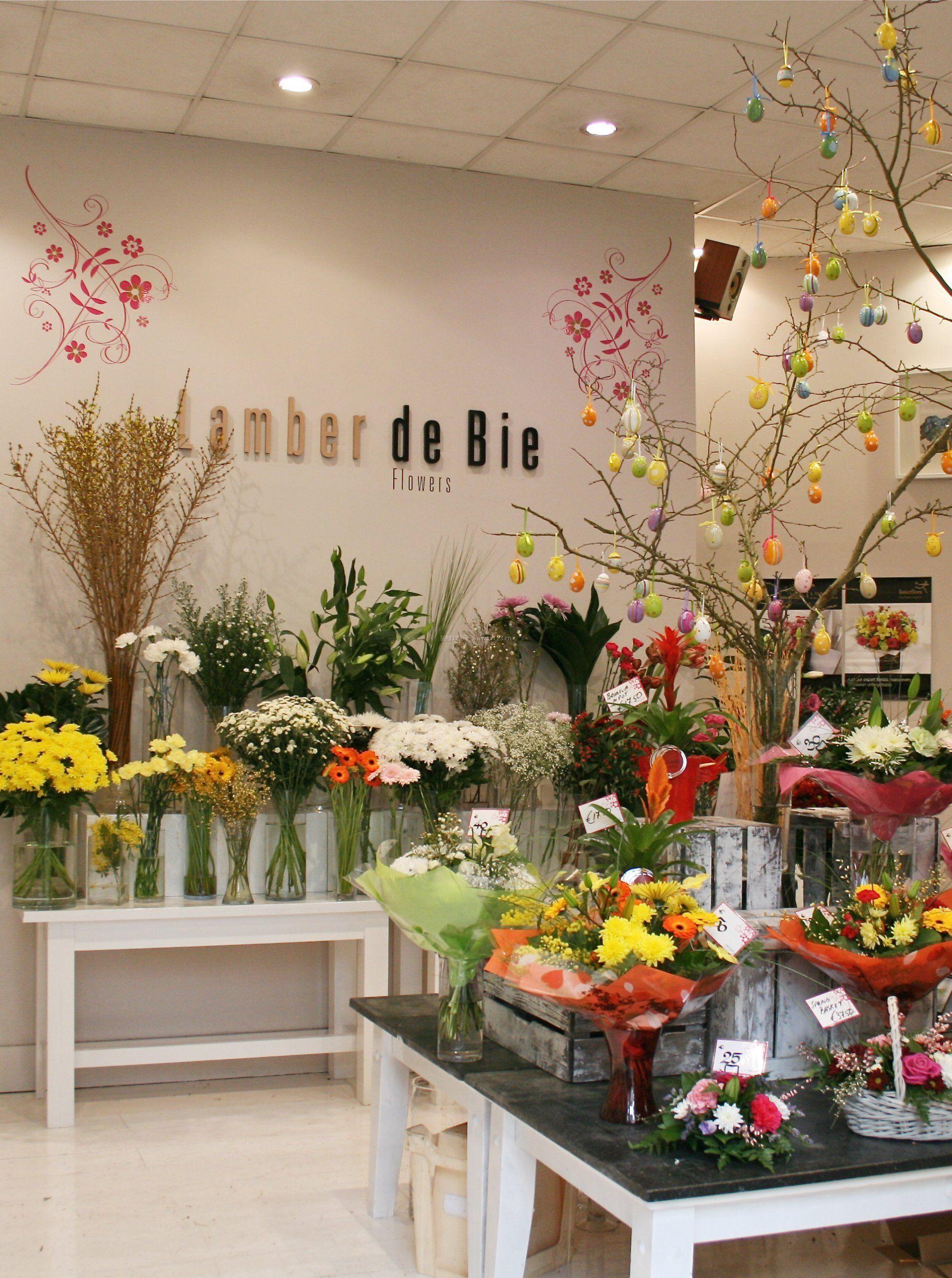 高端花店现代室内装修效果图片图片