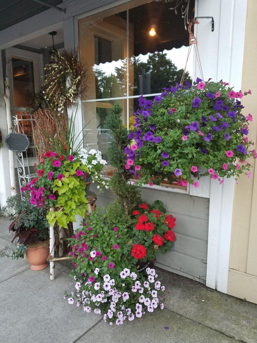 国外鲜花店设计效果图片大全