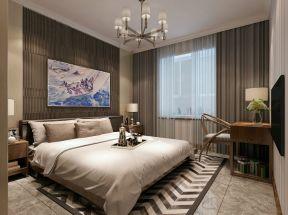 雙人床裝修效果圖片 臥室背景墻設計