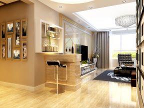 室內吧臺 室內客廳電視墻設計
