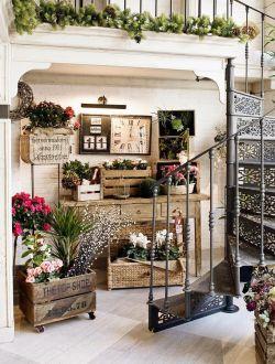 花店装修室内装饰设计效果图图片