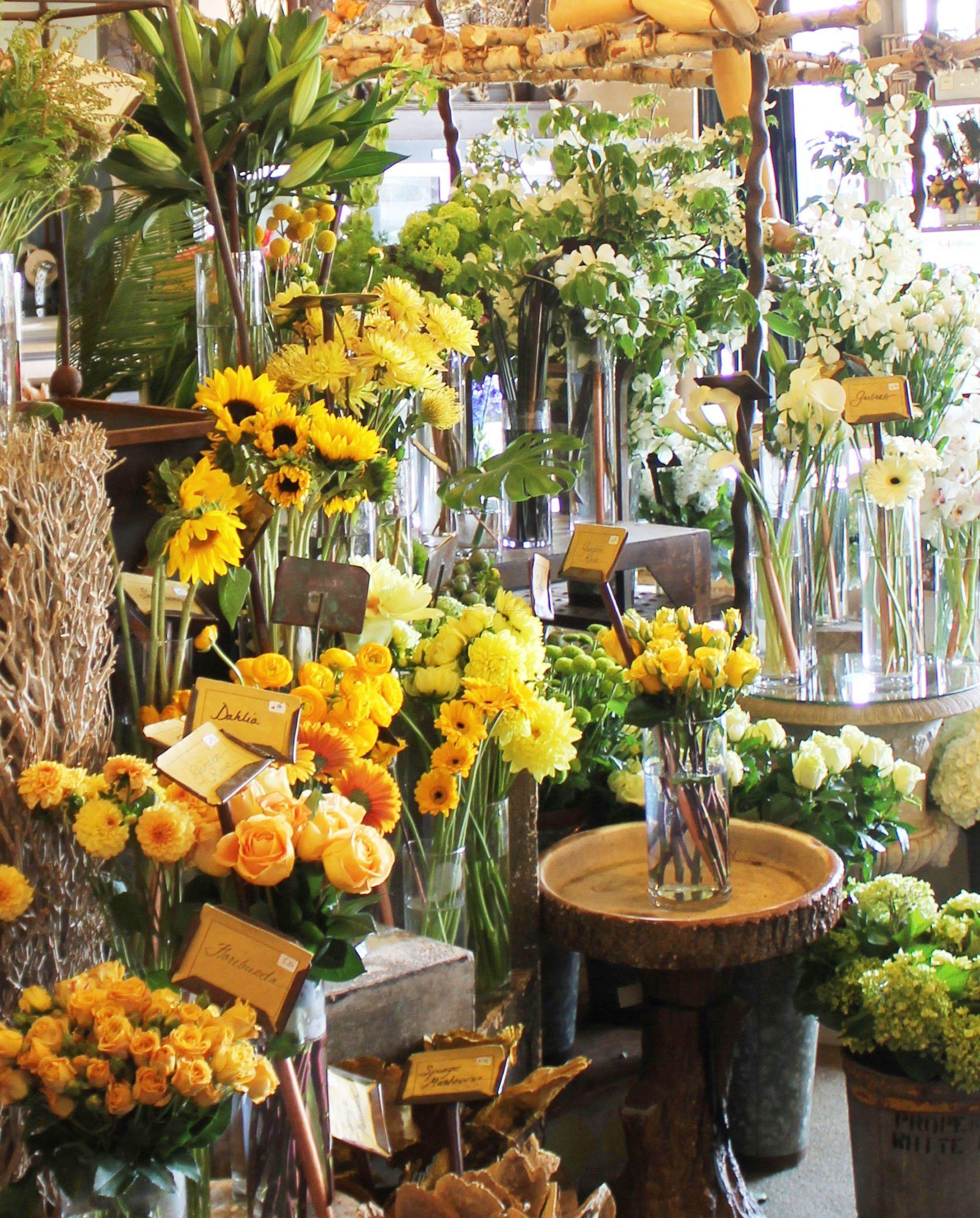 最新花店室内装修效果图欣赏图片