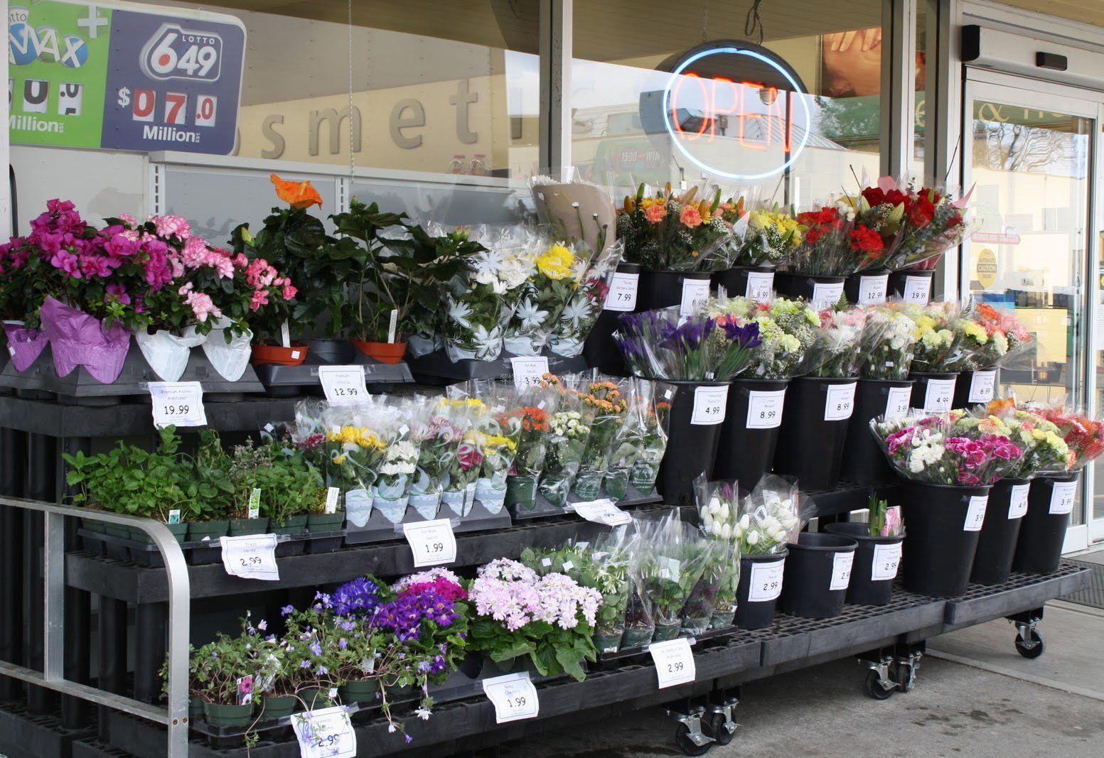 小型花店装饰装修效果图图片