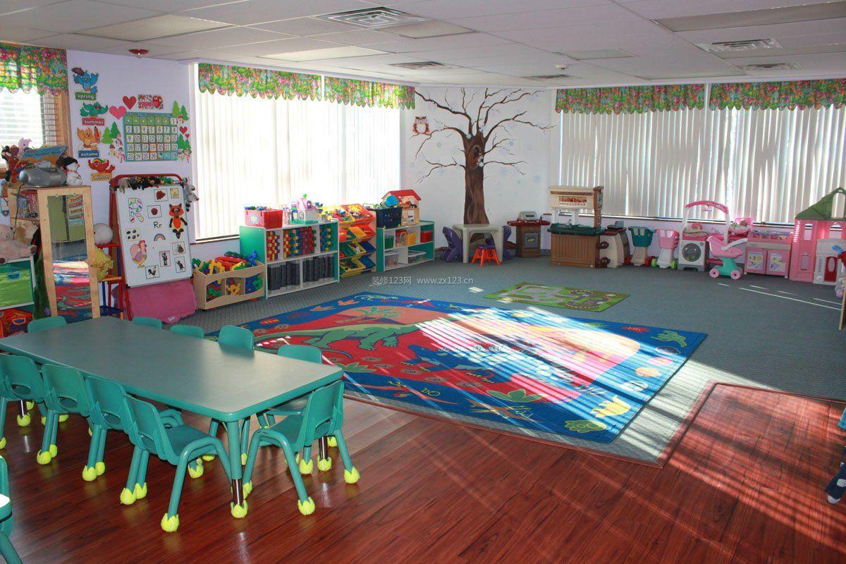 小班幼儿园室内墙面布置装修图