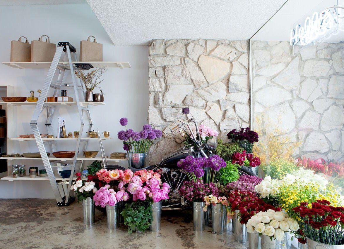 小型花店室内装修效果图图片