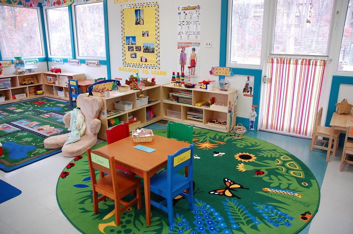 幼儿园小班墙面布置装饰图片