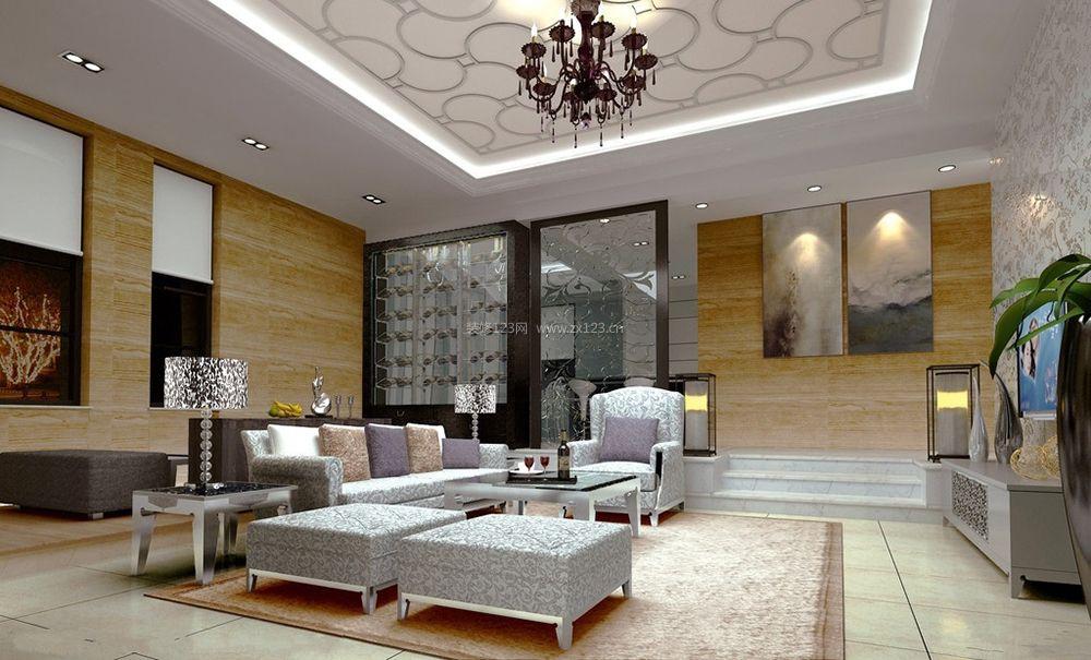 140平米跃层房屋客厅装修效果图大全