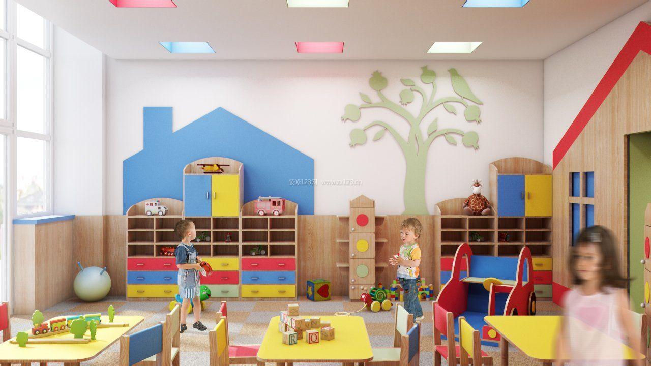 幼儿园主题墙面装饰装修效果图片大全