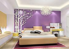 卧室背景墙颜色搭配方法 不同的颜色给人不同的感受